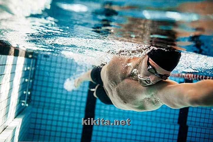 perdere peso nuotando e correndo